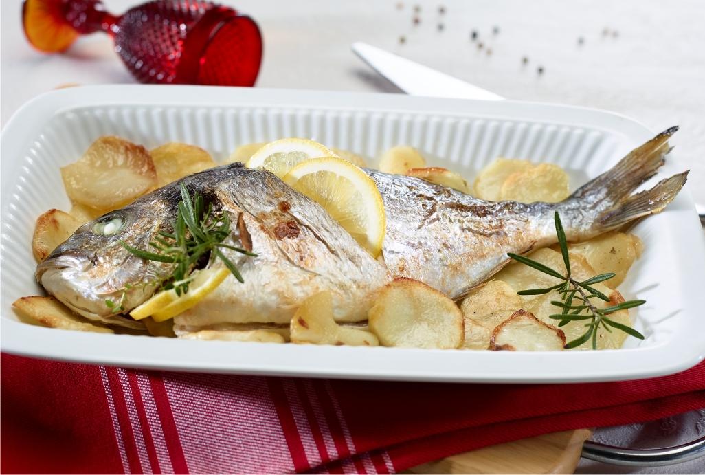 receitas de peixe no forno