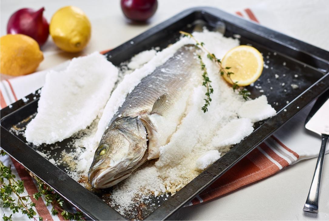 Receita de dourada ao sal